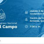 II Congreso Nacional Agua al Campo . Diseño: Liz Carrero (MVCT)