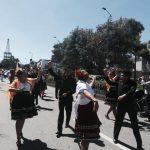 Desfile de las Carretas del Rocío.