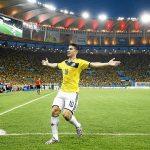 James Celebra el Gol del Año