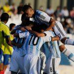 Argentina goleó a Ecuador