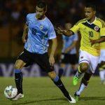 Colombia Cayo ante Uruguay