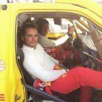 Dupla Linares-Pereira pre etapa 12 del Dakar 2015