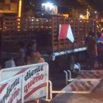 El camión sin frenos que atropelló a trece personas durante la Guacherna barranquillera.