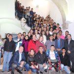 Integrantes de la Banda de Villamaría en Lliria España