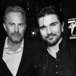 Kevin Costner y Juanes