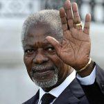 Kofi Annan, ex Secretario General de la Organización de las Naciones Unidas