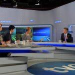 Presidente Santos en entrevista en directo con la televisión española  Madrid, España - 2 de marzo de 2015. Foto: César Carrión - SIG