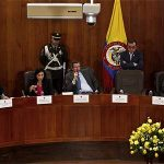 El magistrado de la Corte Constitucional Mauricio González