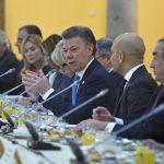 presentación ante los líderes de la empresa española que Colombia