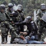 Ataque a Indigenas por parte de la  policia