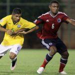 Colombia perdio ante Brasil