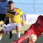Selección Colombia sub-17 logró su primera victoria en el campeonato de la categoría.2