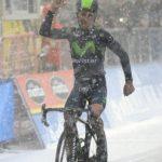 Victoria bajo la nieve para Nairo Quintana