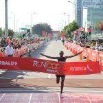 Perú y Kenia reinaron en el RunTour Avianca