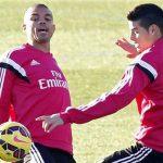 James Rodríguez será la gran novedad del Real Madrid en Granada