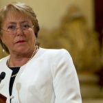 La presidente chilena, Michelle Bachelet