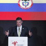 Santos en la Cumbre de las Américas