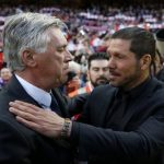 Tecnicos del Real y del Atletico