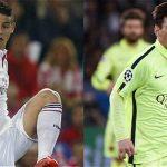 James y Messi