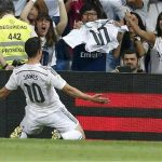 Gol, gol, gol ¡golazo! de James.