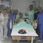 Foto: Archivo Particular  El cabo Edward Ávila Ramírez se recupera en el hospital militar de Bucaramanga