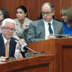 Senador Robledo durante el debate sobre Ecopetrol en la Comisión V