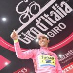 Contador Cerca del Trono del Giro