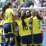 Colombia en el Mundial femenino de Canadá.13