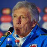 El entrenador de la selección de Colombia, José Pekerman