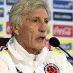 José Pékerman, técnico del seleccionado colombiano