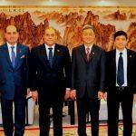 Presidente del Senado se reúne con el Vicepresidente chino Li Yuanchao