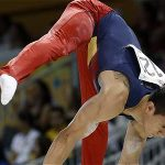 Jossimar Calvo, gimnasta colombiano.