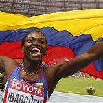 Catherine Ibargüen grande el salto triple