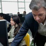 Esto de la tecnología tiene un gran significado en cualquier sector', dijo el Presidente tras su visita al INEM de Manizales