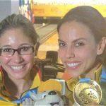 Clara Guerrero y Rocío Restrepo.