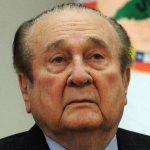 Nicolás Leoz, expresidente de la Conmebol