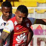Independiente Santa Fe venció 1-0 a Boyacá Chicó.