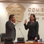 Clara Rojas asume la presidencia de la Comisión legal de Derechos Humanos