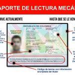 Pasaporte Lectura Mecánica
