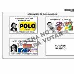 Tarjeton Gobernador para Cundinamarca