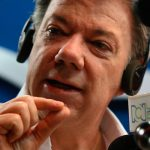 Presidente Santos participó en entrevista con RCN Radio