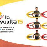 Team Colombia-Coldeportes,  en la Vuelta a España