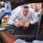 Presidente paró en bomba de gasolina de Cúcuta para verificar suministro normal