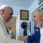 Papa Francisco se reunio con Fidel Castro