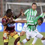Monsalve marcó para los 'Pijaos' y Cardona, de penalti, empató para el equipo verde de Antioquia.