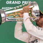El británico logró el título, luego de ganar el GP de EE. UU. y que Vettel terminara de tercero.