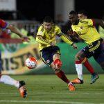 James Grande ante Chile