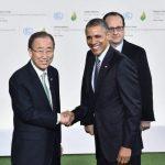 Cumbre del COP21 desde París, Francia