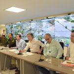 Presidente Santos y Ministro Cristo presentan a los Alcaldes de cinco capitales del país la cobertura total de vídeo vigilancia