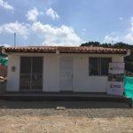 Casa modelo que será habitada en Gramalote